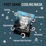POST SHAVE COOLING MASK with Anti-Ageing Collagen