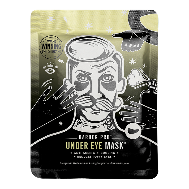 UNDER EYE MASK with Activated Charcoal & Volcanic Ash