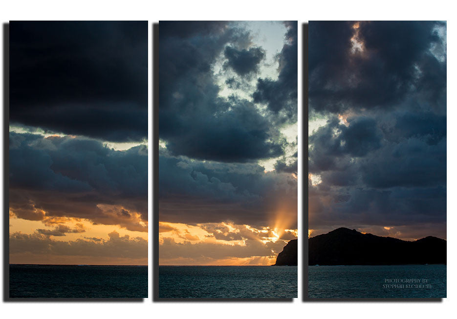Sunset Lord Howe Island - Triptysh