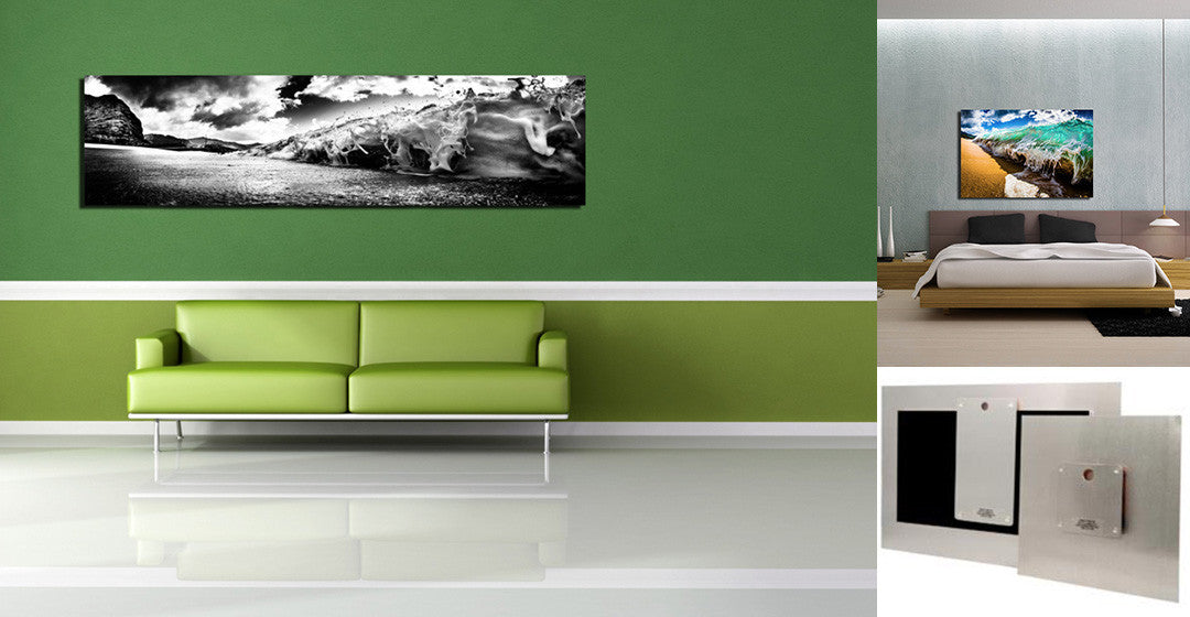Metal Prints including Floating Wall Hanger