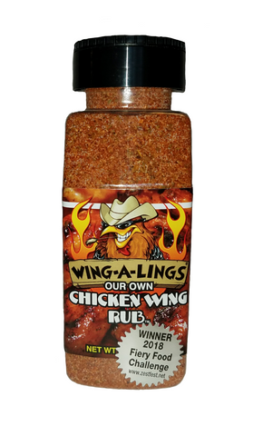 WING-A-LINGS Our Own Chicken Wing Rub Dry Rub - Large family size 1LB