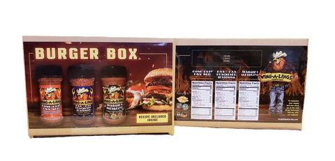 WING-A-LINGS Burger Box - Gift Box