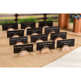 David Tutera Rustic Wedding Wood Place Card Holders 24 Pieces