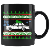 1969 Ford Cortina Ugly Christmas Sweater Mug