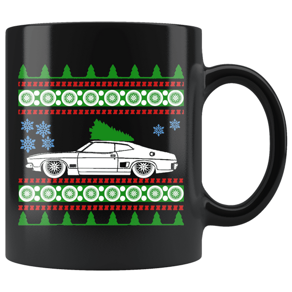 1976 Ford Falcon XB Coupe Christmas Sweater Mug