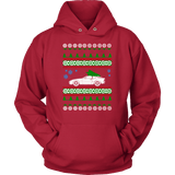Porsche 944 951 Turbo Ugly Christmas Sweater Hoodie and Long Sleeve T-shirt