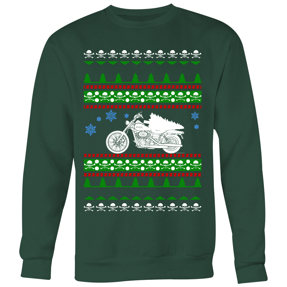 Motorcycle Ugly Christmas Sweater, hoodie and long sleeve t-shirt