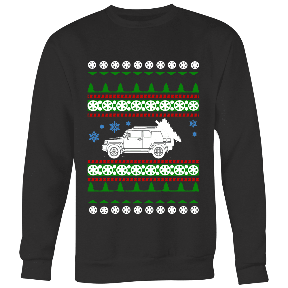 Toyota FJ Cruiser Ugly Christmas Sweater Holiday party shirt