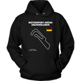 Motorsport Arena Oschersleben Track Outline Series T-shirt and Hoodie