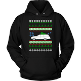 Bel Air Chevy Wagon 1962 Ugly Christmas Sweater sweatshirt
