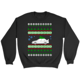 Lancer Evo 8 9 Ugly Christmas Sweater new, hoodie and long sleeve t-shirt