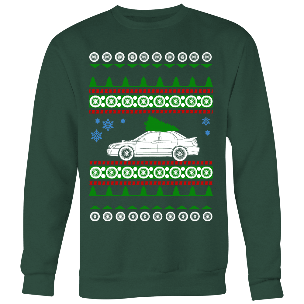 bugeye sti ugly christmas sweater