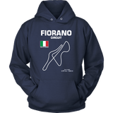 Fiorano Circuit Race Track Outline Series T-shirt or Hoodie