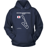 Okayama International Circuit Track Outline Series T-shirt and Hoodie
