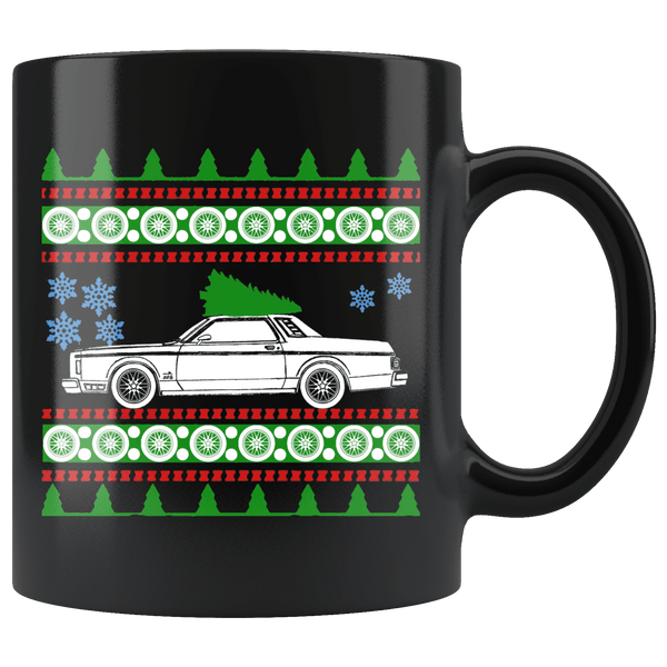 1978 Ford Granada Ghia Ugly Christmas Sweater Mug