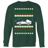 porsche boxster ugly christmas sweater