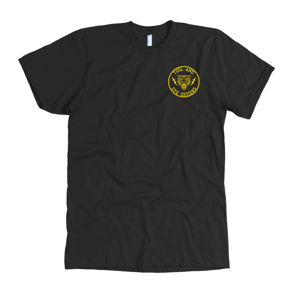 Tiger's Head Vintage Gas Station Logo Tool and Dye T-shirt