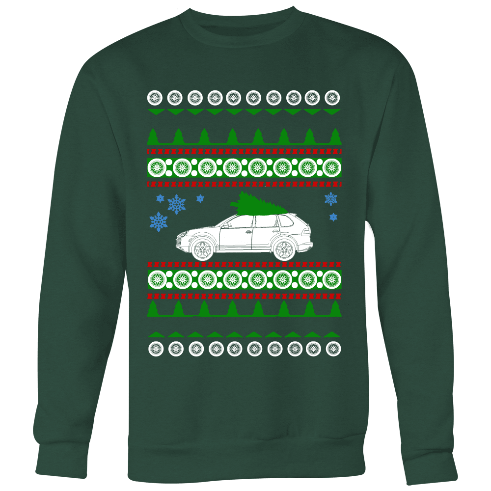 German Car Porsche Cayenne Turbo Ugly Christmas Sweater, hoodie and long sleeve t-shirt sweatshirt