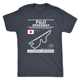 Fuji Speedway Version 2 Race Track Outline Series T-shirt or Hoodie