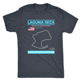 Version 2 Laguna Seca Race Track Outline Series T-shirt