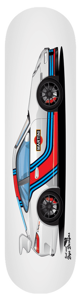 Martini Racing GT3 Skateboard Deck 7-ply Hardrock Canadian Maple