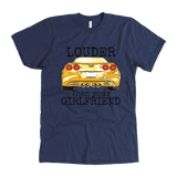 C6 Corvette louder than your girlfriend t shirt v8 ls3