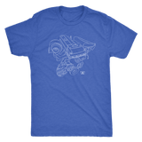 Ford Australia Barra Engine Blueprint T-shirt