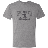 Tool and Dye Classic Anvil logo mens tri-blend