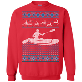 Kayaking Ugly Christmas Sweater sweatshirt