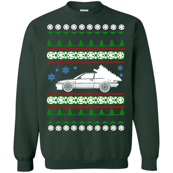 acura integra ugly christmas sweater