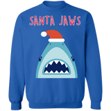 Shark Teeth Baby Shark style  Jaws Ugly Christmas Sweater sweatshirt