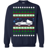 German Sports Car Porsche Boxster style Ugly Christmas Sweater