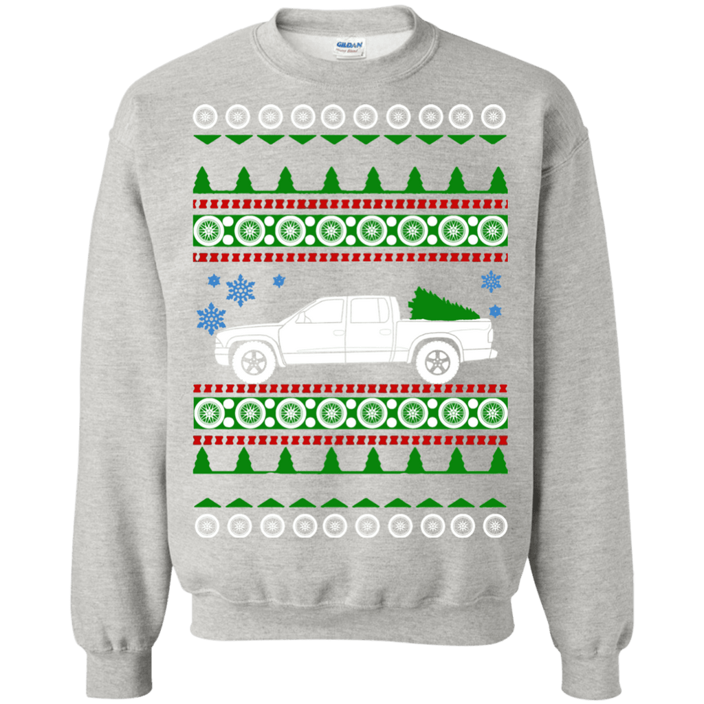 Dodge Dakota 2002 quadcab ugly christmas sweater
