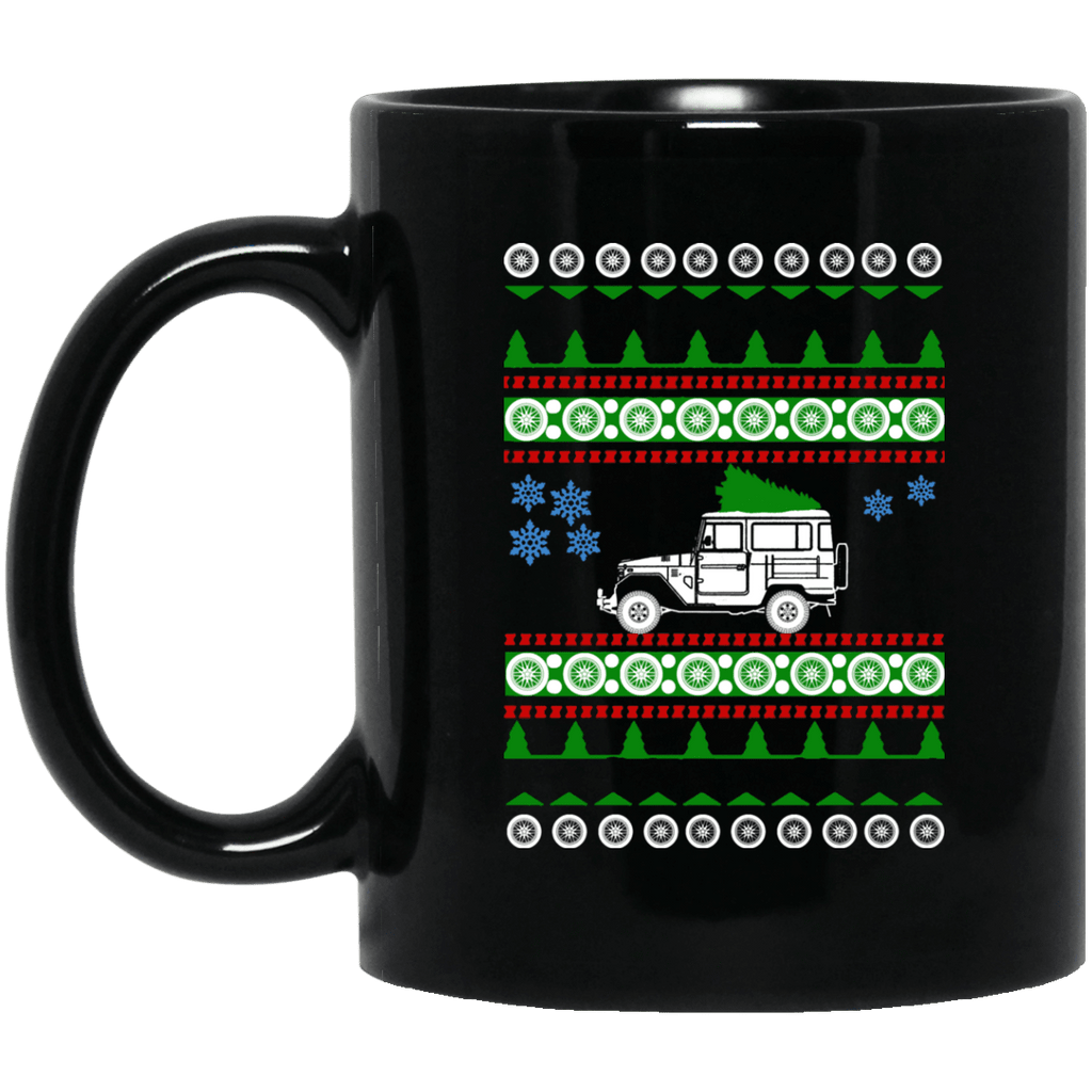 "Toyota FJ40 1978 Ugly Christmas ""sweater"" Coffee Mug"