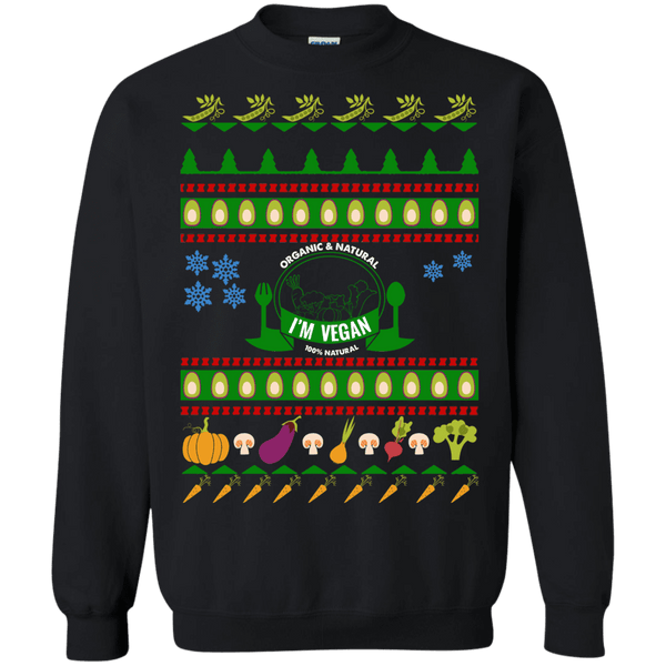 Vegan Vegetarian Ugly Christmas Sweater sweatshirt