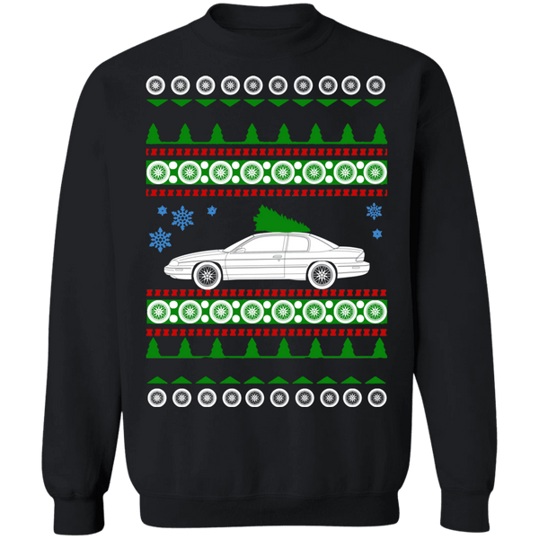 American Car Monte Carlo Chevy 1996 Ugly Christmas Sweater