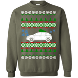 Electric Car Nissan Leaf 2018 Ugly Christmas Sweater