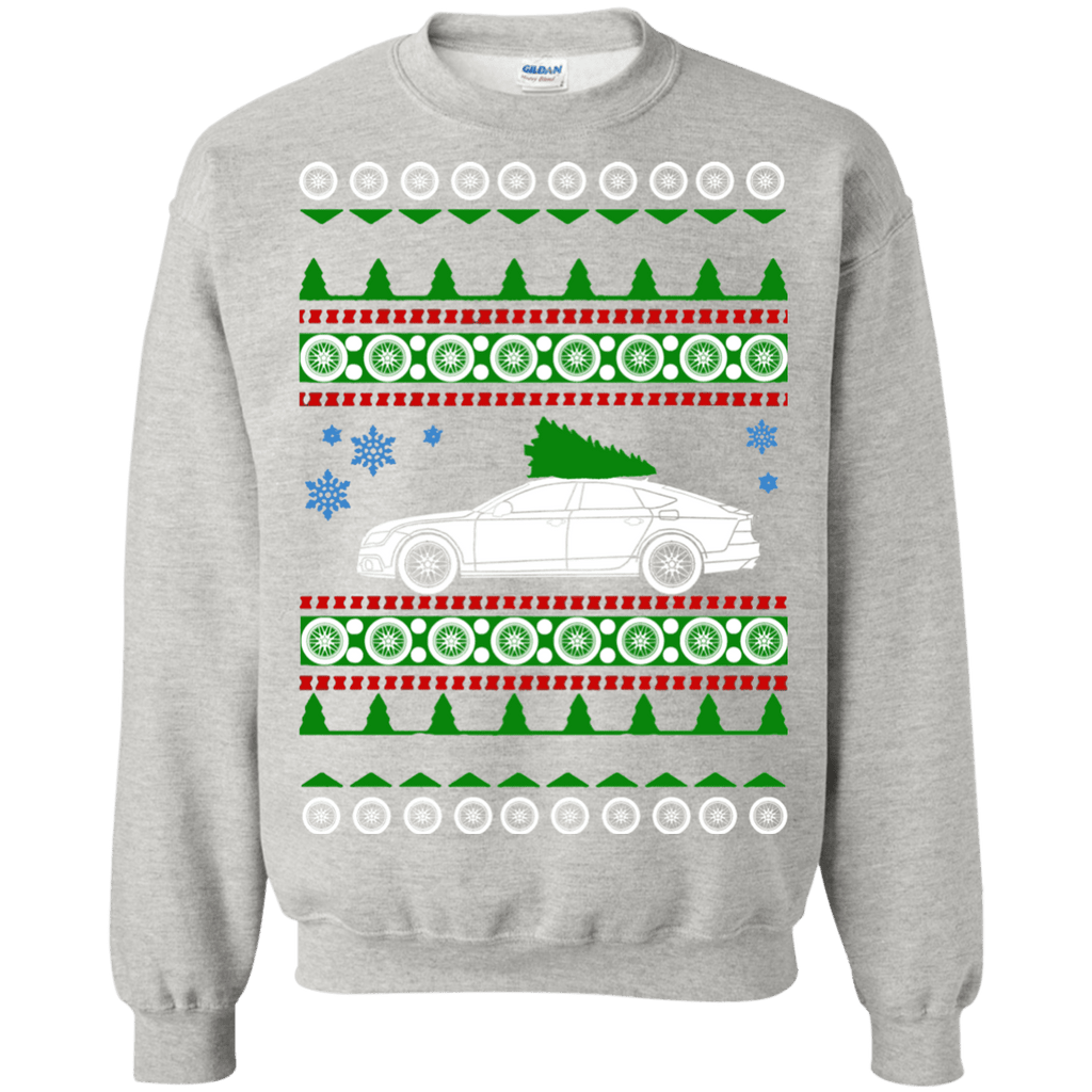German Car Audi S7 Ugly Christmas Sweater A7 2012