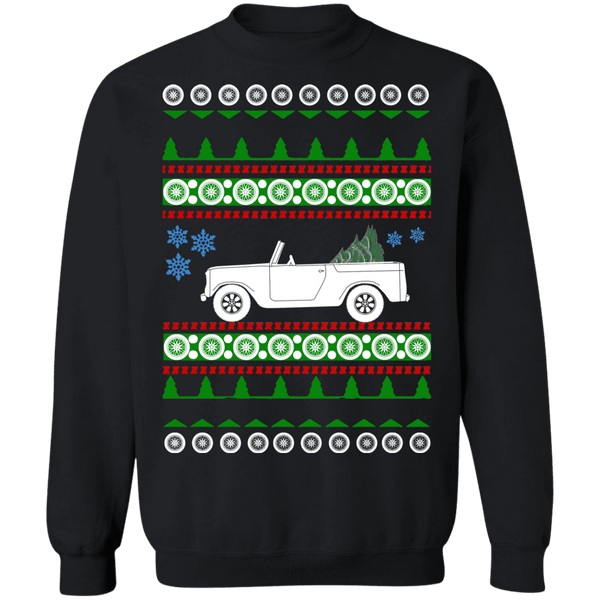 1962 International harvester scout 80 ugly christmas sweater