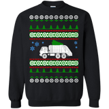 Garbage Truck Ugly Christmas Sweater