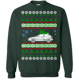 honda civic ek premium ugly christmas sweater
