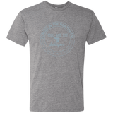 Tool and Dye Forged gray logo mens tri-blend