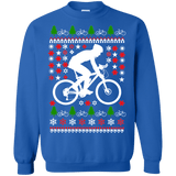 Mountain Biking Ugly Christmas Sweater version 3
