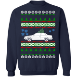 Swedish Car like Volvo 780 Bertone Ugly Christmas Sweater Sweatshirt