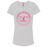 Tool and Dye Girls Forged pink logo t-shirt