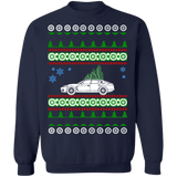 German Sedan like  First Generation Panamera Porsche Ugly Christmas Sweater sweatshirt