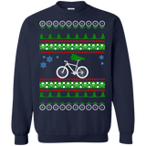 Mountain Bike ugly christmas sweater
