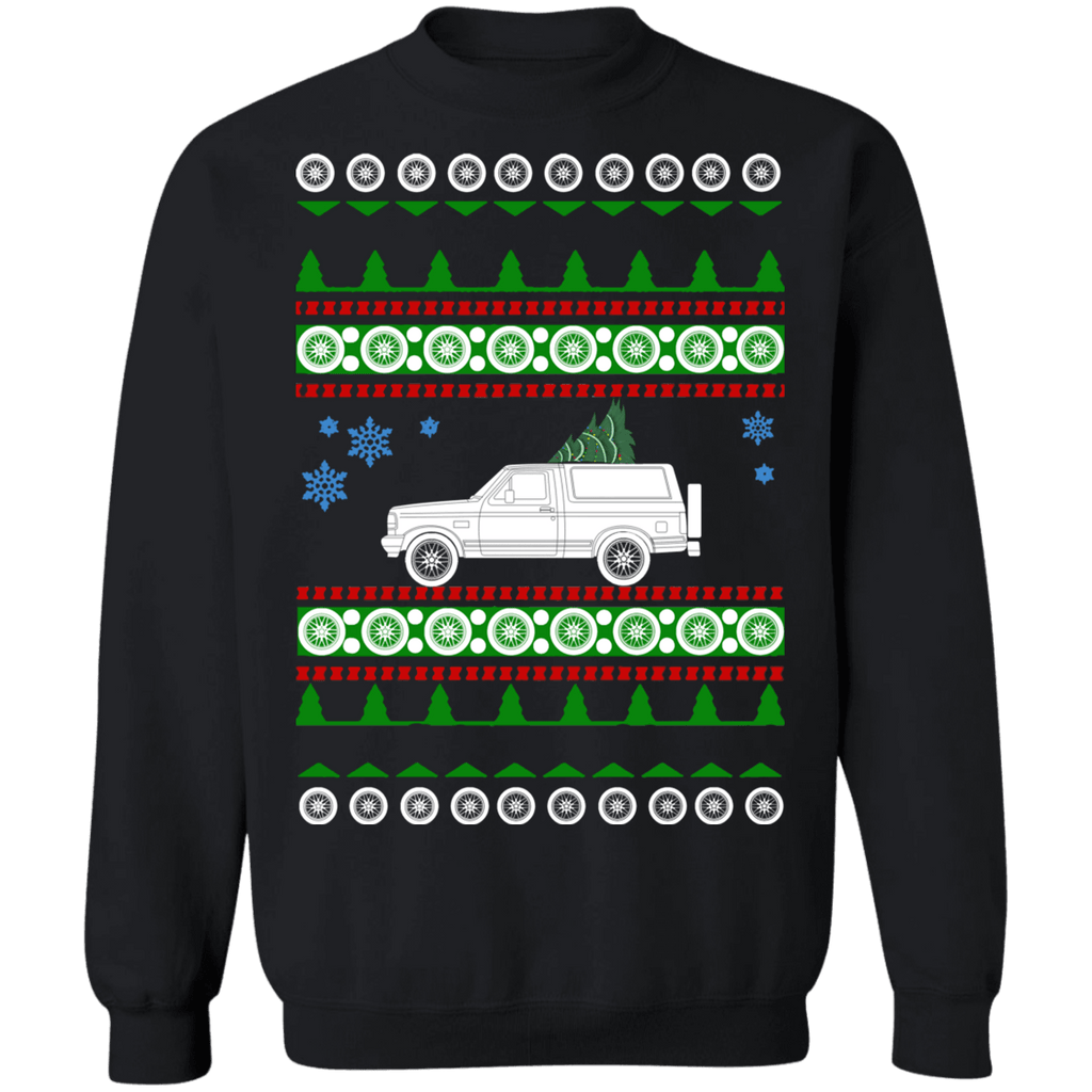 Ford Bronco 92-96 Ugly Christmas Sweater sweatshirt