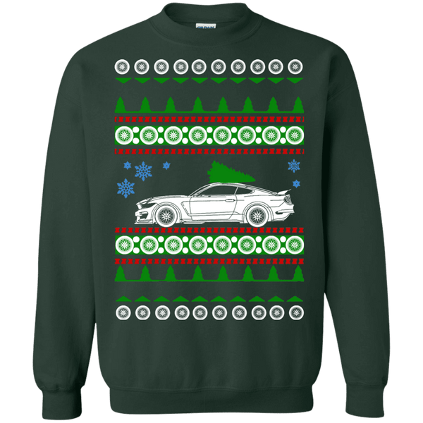 Ford Mustang Shelby GT350R ugly Christmas Sweater