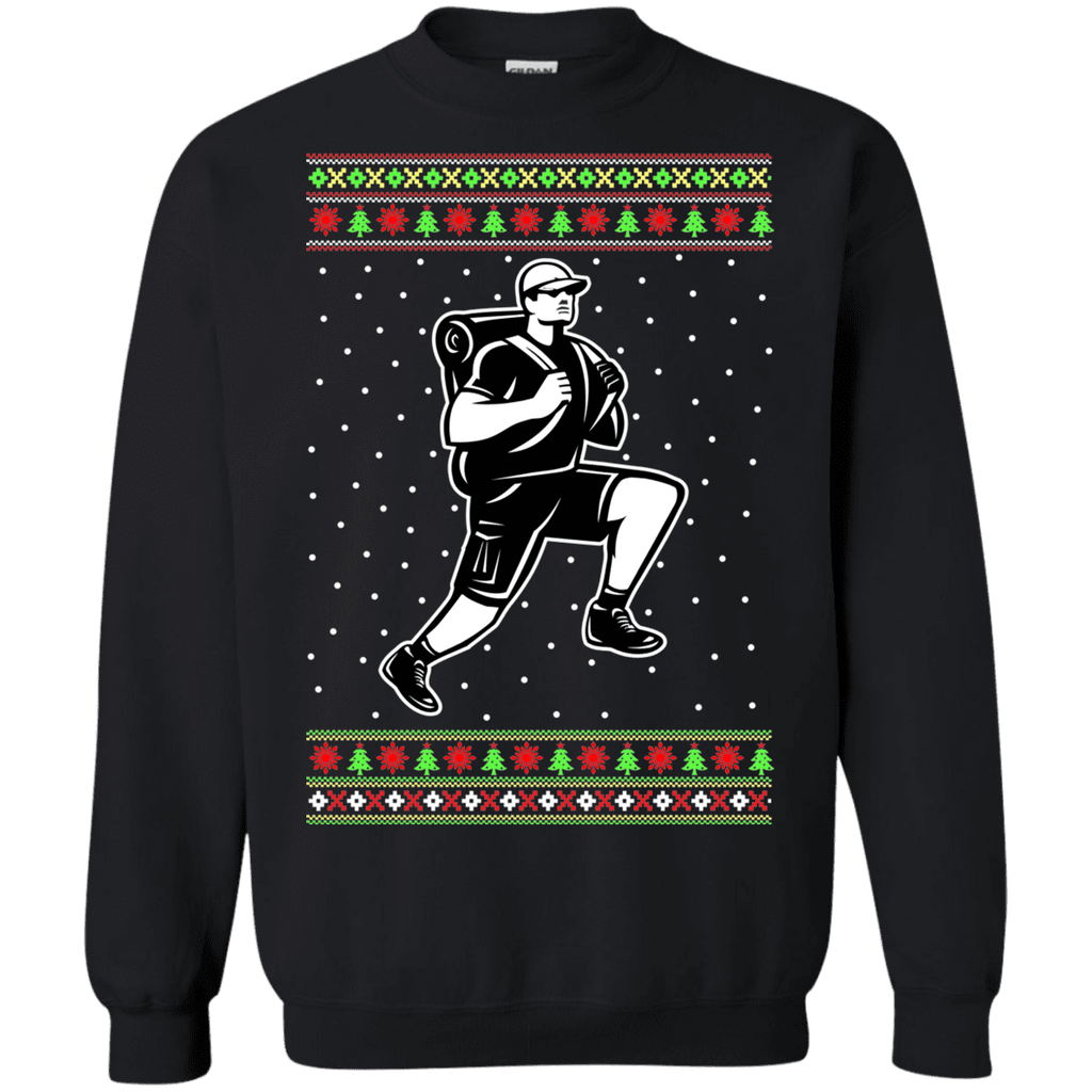 Hiker Hiking Ugly Christmas Sweater sweatshirt